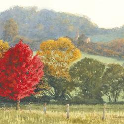Autumn in Chiselborough