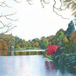Autumn in Stour Head Gardens I