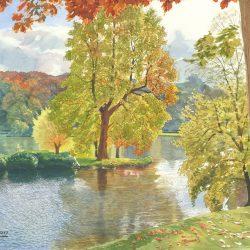 Autumn in Stour Head Gardens IV
