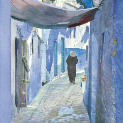Blue Alley (Morocco)