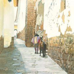 Calle Triunfo - cuzco