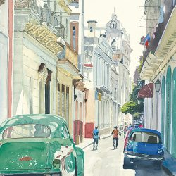 Cruising in the Street (Havana)
