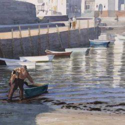 Fisherman in Lyme