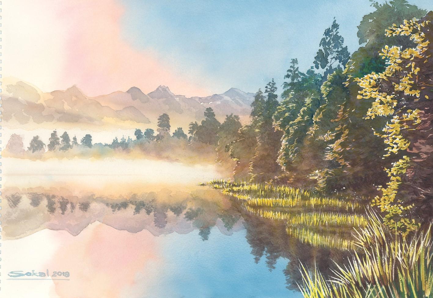Lake Matheson NZ