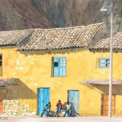 Main Plaza - Ollanta Peru