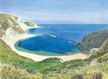 Man'O War Beach / Dorset 22x30