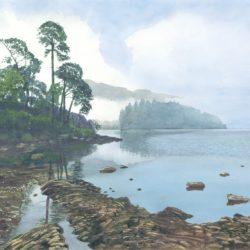 Misty Morning - Derwent Water