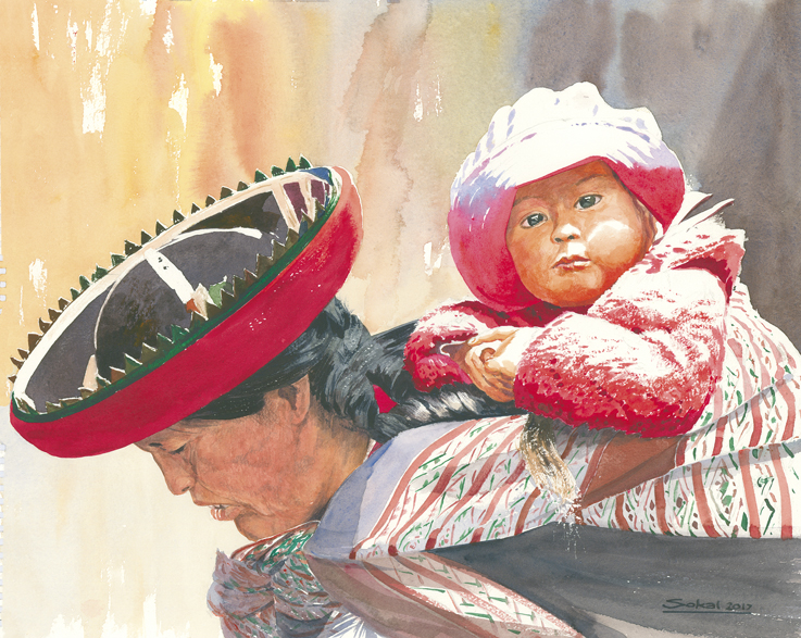 Mother and Child / Peru