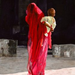 Mother and Child (Rajasthan)