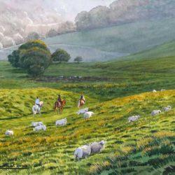 Ponyriders at Whitcombe
