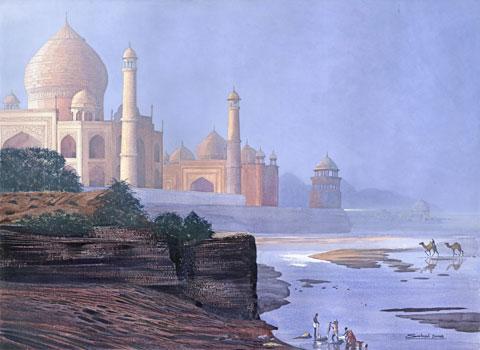 Life beneath the Taj