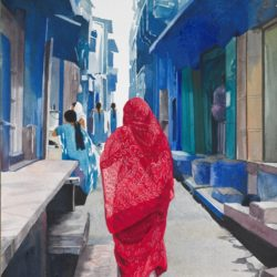 In her best Sari